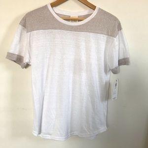 Soft White Short Sleeve Top